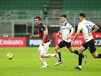 Milano  23-01-2021<br /> Stadio Giuseppe Meazza<br /> Campionato Serie A Tim 2020/21<br /> Milan - Atalanta<br /> nella foto:    Mandzukic                                                      <br /> Antonio Saia Kines Milano