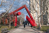 Sculpture on the campus of the University of Pennsylvania, Philadelphia, PA
