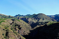 Berge im Südosten, Santo Antao, Kapverden, Afrika