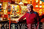 Billy Keane at John B Keanes bar in Listowel