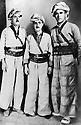 Irak 1960.De doite a gauche, Isa Swar, Idris Barzani et Said Willi Beg