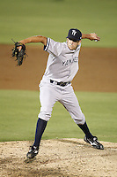July 11, 2009:  Pitcher Pat Venditte of the Tampa Yankees during a game at Dunedin Stadium in Dunedin, FL.  Tampa is the Florida State League High-A affiliate of the New York Yankees.  Photo By Mike Janes/Four Seam Images