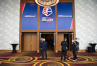 Los Angeles, CA - January 12, 2017: The 2017 NWSL College Draft was held at the JW Marriott Hotel.