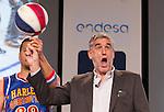 Juanma Iturriaga  during presentation of the Liga Endesa playoff. May 23,2016. (ALTERPHOTOS/Rodrigo Jimenez)