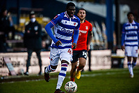 9th January 2021; Kenilworth Road, Luton, Bedfordshire, England; English FA Cup Football, Luton Town versus Reading; Jeriel Dorsett of Reading in action.