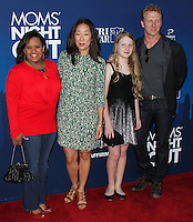 """HOLLYWOOD, LOS ANGELES, CA, USA - APRIL 29: Chandra Wilson, Sandra Oh, Kevin McKidd at the Los Angeles Premiere Of TriStar Pictures' """"Mom's Night Out"""" held at the TCL Chinese Theatre IMAX on April 29, 2014 in Hollywood, Los Angeles, California, United States. (Photo by Xavier Collin/Celebrity Monitor)"""