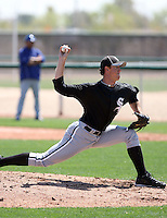 Kyle Bellamy, Chicago White Sox 2010 minor league spring training..Photo by:  Bill Mitchell/Four Seam Images.