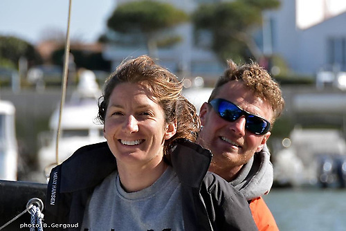 Pamela Lee and Kenneth Rumball on RL Sailing