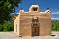 Church San Juan De Los Lagos. Talpa, New Mexico