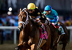 May 15, 2021 : Special Reserve, #8, ridden by jockey Irad Ortiz Jr., wins the Maryland Sprint Match Series Stakes on Preakness Stakes Day at Pimlico Race Track in Baltimore, Maryland on May 15, 2021. Alex Evers/Eclipse Sportswire/CSM