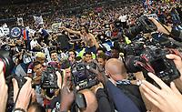 Vainqueur de la Coupe Psg  - Cavani <br /> Parigi 08-05-2018 Stade de France <br /> Calcio Finale Coppa di Francia <br /> Les Herbiers - Paris Saint Germain <br /> Foto Panoramic/insidefoto
