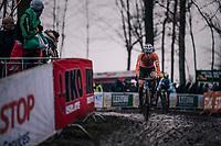 Pim Ronhaar (NED)<br /> <br /> Junior Men's Race<br /> UCI CX Worlds 2018<br /> Valkenburg - The Netherlands