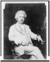 Mark Twain , 1907 file photo