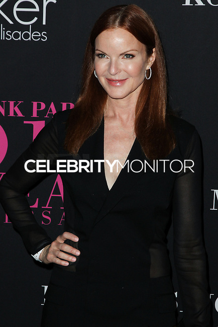 SANTA MONICA, CA, USA - OCTOBER 18: Marcia Cross arrives at Elyse Walker's 10th Annual Pink Party held at Santa Monica Airport HANGAR:8 on October 18, 2014 in Santa Monica, California, United States. (Photo by Celebrity Monitor)