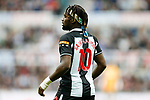 Allan Saint-Maximin of Newcastle. Newcastle v West Ham, August 15th 2021. The first game of the season, and the first time fans were allowed into St James Park since the Coronavirus pandemic. 50,673 people watched West Ham come from behind twice to secure a 2-4 win.