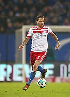 20.01.2018, Football 1. Bundesliga 2017/2018, 19.  match day, Hamburger SV - 1. FC Koeln, Volksparkstadium Hamburg. Dennis Diekmeier (Hamburg)  *** Local Caption *** © pixathlon<br /> <br /> +++ NED + SUI out !!! +++<br /> Contact: +49-40-22 63 02 60 , info@pixathlon.de