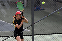 Tennis – CSW Open Individual Champs at Renouf Tennis Centre, Wellington, New Zealand on Wednesday 10 March  2021. <br /> Photo by Masanori Udagawa. <br /> www.photowellington.photoshelter.com