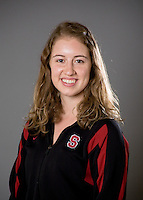 Madison Crocker of the Stanford synchronized swimming team.