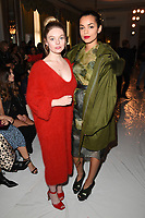 Nell Hudson and Georgina Campbell<br /> at the Jasper Conran SS18 Show as part of London Fashion Week, London<br /> <br /> <br /> ©Ash Knotek  D3308  16/09/2017