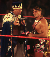 Owen Hart  Jerry Lawler 1994                                               Photo By John Barrett/PHOTOlink