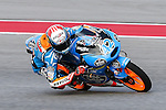 Alex Rins (42) in action during the Red Bull Grand Prix of the Americas practice sessions at Circuit of the Americas racetrack in Austin,Texas.