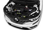 Car stock 2018 Renault Koleos Intens 4wd 5 Door SUV engine high angle detail view