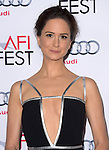 Katherine Waterston at The Gala screening of INHERENT VICE at AFI FEST 2014 presented by Audie held at at The Egyptian Theatrein Hollywood, California on November 08,2014                                                                               © 2014 Hollywood Press Agency