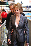 Mary Tyler Moore & Husband Dr. Robert Levine.onstage at Broadway Barks 14 at the Booth Theatre on July 14, 2012 in New York City. Marking its 14th anniversary, Broadway Barks!, founded by Bernadette Peters and Mary Tyler Moore helps many of New York City's shelter animals find permanent homes and also inform New Yorkers about the plight of the thousands of homeless dogs and cats in the metropolitan area.