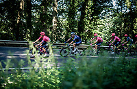 Daniel Arroyave (COL/EF Education - Nippo) leading the way<br /> <br /> 17th Benelux Tour 2021<br /> Stage 5 from Riemst to Bilzen (BEL/192km)<br /> <br /> ©kramon