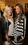 Monica Bickers and Laure Heriard-Dubreuil at the Versace pre-party for the Vogue Galleria Fashion Show at the Galleria Thursday Sept. 10,2015.(Dave Rossman photo)