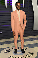 24 February 2019 - Los Angeles, California - Chadwick Boseman. 2019 Vanity Fair Oscar Party following the 91st Academy Awards held at the Wallis Annenberg Center for the Performing Arts. Photo Credit: Birdie Thompson/AdMedia