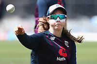 Members of the England team warm up prior to the 1st ODI women's cricket international between New Zealand White Ferns and England at Hagley Oval in Christchurch, New Zealand on Tuesday, 23 February 2021. Photo: Martin Hunter / lintottphoto.co.nz