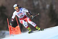 18th February 2021; Cortina d'Ampezzo, Italy; FIS Alpine World Ski Championships  Cortina Women's Giant Slalom; Ramona Siebenhofer (AUT)