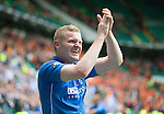 St Johnstone v Dundee United....17.05.14   William Hill Scottish Cup Final<br /> Brian Easton celebrates at full time<br /> Picture by Graeme Hart.<br /> Copyright Perthshire Picture Agency<br /> Tel: 01738 623350  Mobile: 07990 594431