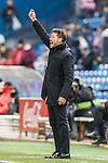 Coach Diego Simeone of Atletico de Madrid reacts during their Copa del Rey 2016-17 Quarter-final match between Atletico de Madrid and SD Eibar at the Vicente Calderón Stadium on 19 January 2017 in Madrid, Spain. Photo by Diego Gonzalez Souto / Power Sport Images