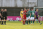 22.11.2020, Dietmar-Scholze-Stadion an der Lohmuehle, Luebeck, GER, 3. Liga, VfB Luebeck vs FC Bayern Muenchen II <br /> <br /> im Bild / picture shows <br /> Endstand 3:0, Mirko Boland (VfB Luebeck) umarmt Nicolas Feldhahn (FC Bayern Muenchen II) <br /> <br /> DFB REGULATIONS PROHIBIT ANY USE OF PHOTOGRAPHS AS IMAGE SEQUENCES AND/OR QUASI-VIDEO.<br /> <br /> Foto © nordphoto / Tauchnitz