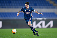 18th February 2021, Rome, Italy;  Hector Bellerin of Arsenal FC during the UEFA Europa League round of 32 Leg 1 match between SL Benfica and Arsenal at Stadio Olimpico, Rome, Italy on 18 February 2021.