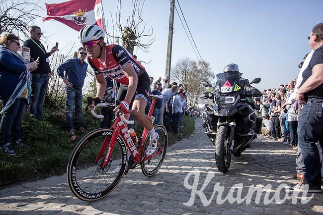 Koen de Kort (NED/Trek Segafredo)<br /> <br /> <br /> 62nd E3 Harelbeke 2019 (1.UWT)<br /> Harelbeke – Harelbeke: 203,9km<br /> ©kramon
