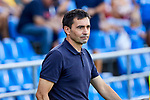 Asier Garitano coach of Deportivo Alaves of Deportivo Alaves during La Liga match between Getafe CF and Deportivo Alaves at Colisseum Alfonso Perez in Getafe, Spain. August 31, 2019. (ALTERPHOTOS/A. Perez Meca)
