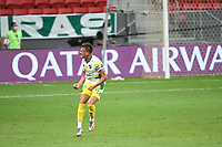 Brasília (DF), 14/04/2021 – Partida entre Palmeiras e Defensa y Justicia pela Recopa Sul-Americana no estádio Mané Garrincha em Brasília, na noite desta quarta-feira (14).