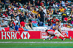 South Korea vs Tunisia during the HSBC Sevens Wold Series Qualifier match as part of the Cathay Pacific / HSBC Hong Kong Sevens at the Hong Kong Stadium on 28 March 2015 in Hong Kong, China. Photo by Juan Manuel Serrano / Power Sport Images