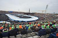 SCHAATSEN: AMSTERDAM: Olympisch Stadion, 11-03-2018, WK Allround, Coolste Baan van Nederland, overzicht, publiek, ©foto Martin de Jong