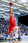 Tsai Choi Kwan #27 of SCAA Men's Basketball Team attempts to score during the Hong Kong Basketball League game between Tycoon and SCAA at Southorn Stadium on May 23, 2018 in Hong Kong. Photo by Yu Chun Christopher Wong / Power Sport Images