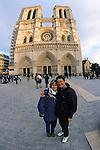 Geneviève & Janice At Le Notre Dame