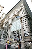 La Loggia dei Mercanti a Genova.<br /> The Loggia dei Mercanti in Genoa.<br /> UPDATE IMAGES PRESS/Riccardo De Luca