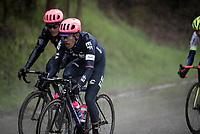 Daniel Felipe Martínez (COL/EF Education First)<br /> <br /> 105th Liège-Bastogne-Liège 2019 (1.UWT)<br /> One day race from Liège to Liège (256km)<br /> <br /> ©kramon