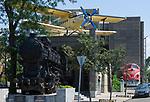 HUN, Ungarn, Budapest, Stadtteil Pest: am Stadtwaeldchen: Verkehrsmuseum | HUN, Hungary, Budapest, Pest District: Transport Museum
