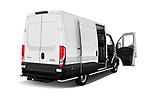Rear three quarter door view of a 2021 Iveco Daily 12m3 L3H2 4 Door Cargo Van