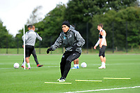 Jefferson Montero of Swansea City in action during the Swansea City Training Session at The Fairwood Training Ground, Wales, UK. Tuesday 11th September 2018