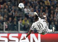 20150930 TORINO-CALCIO: CHAMPIONS LEAGUE - LA JUVENTUS BATTE IL SIVIGLIA 2 A 0